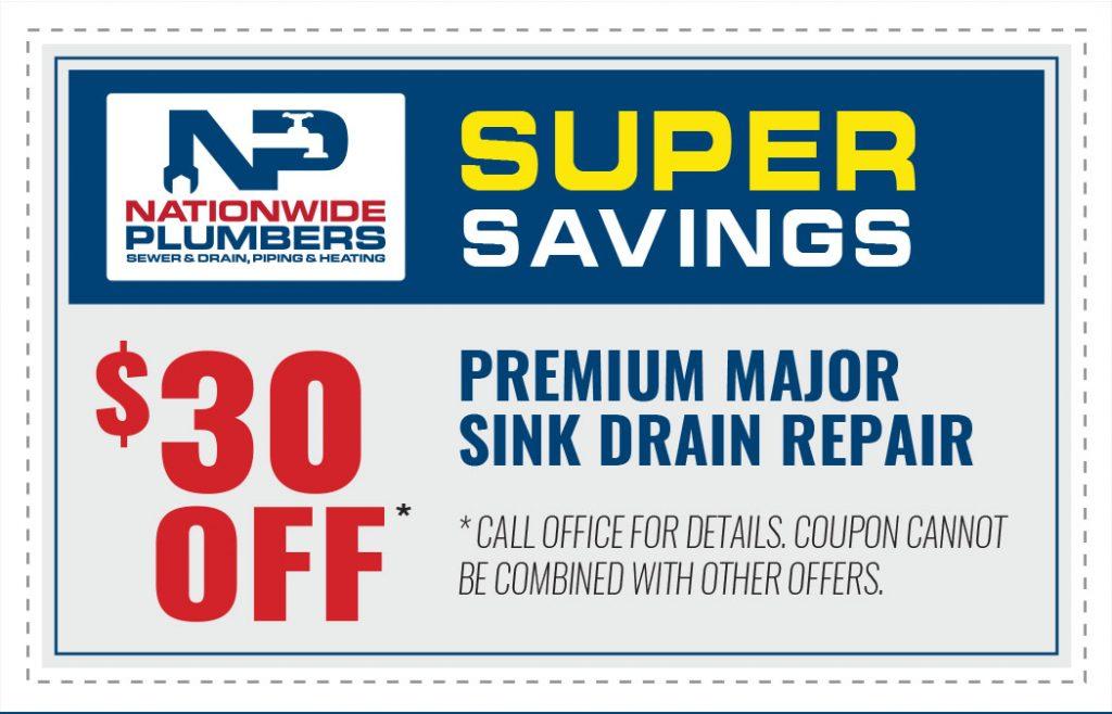 premium major sink drain repair