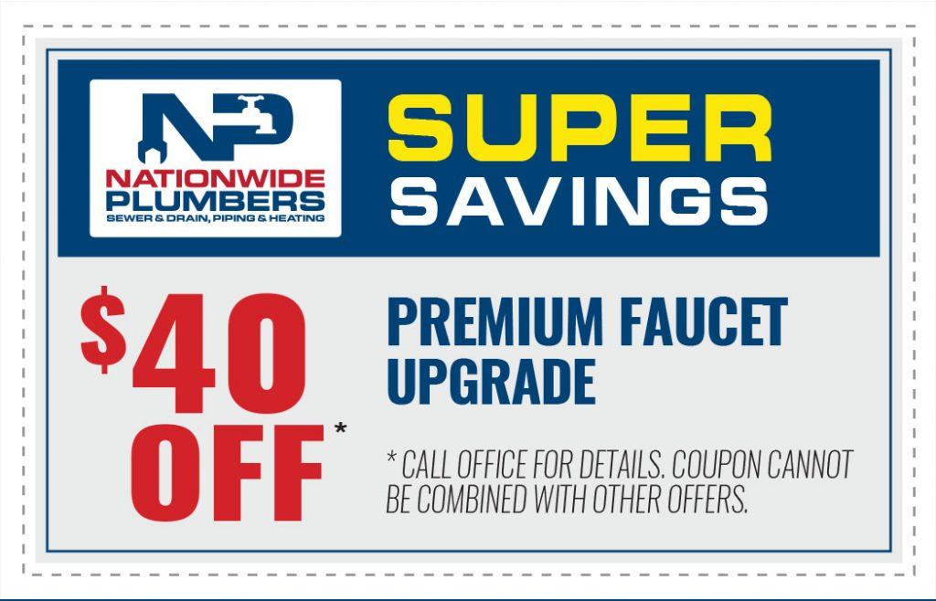 premium faucet upgrade