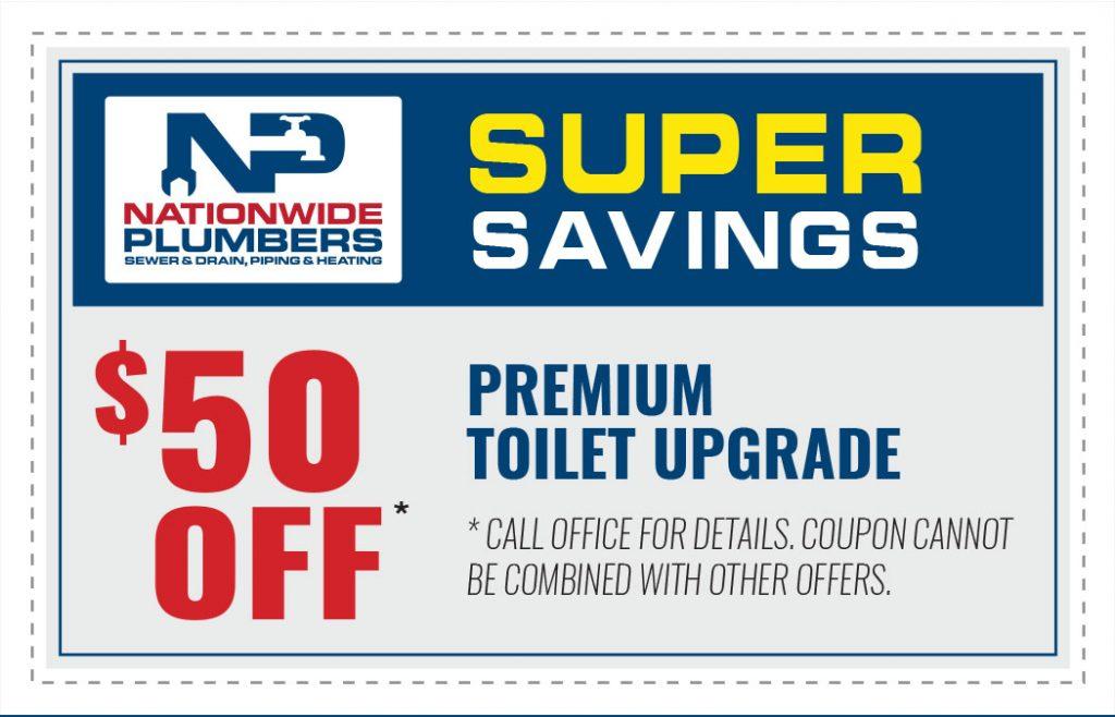 Premium Toilet Upgrade