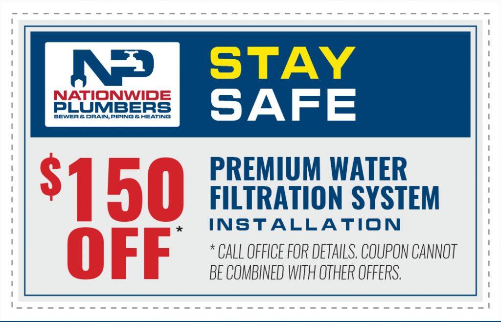 premium water filtration system installation