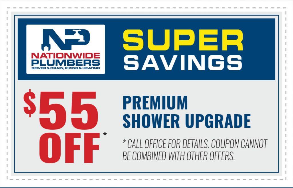 premium shower upgrade