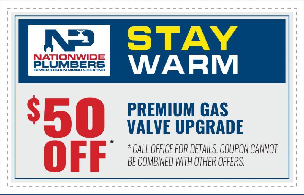 premium gas valve upgrade