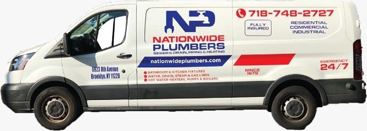 Nationwide Plumbers Truck